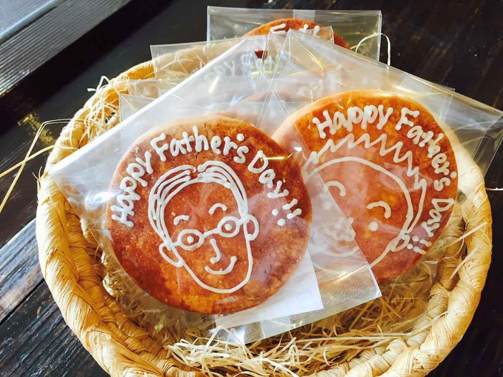 父の日のイラストクッキー