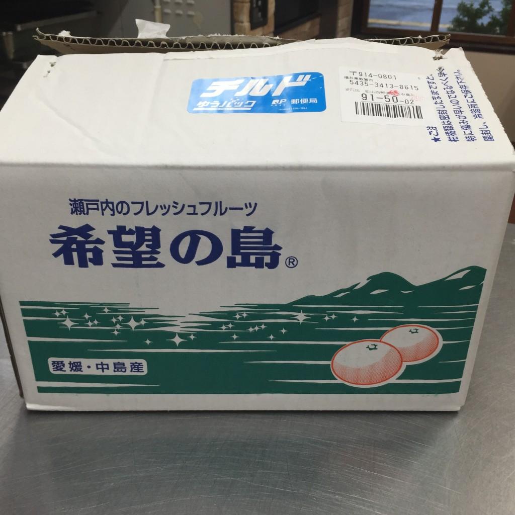 希望の島(愛媛県中島)の有機レモン