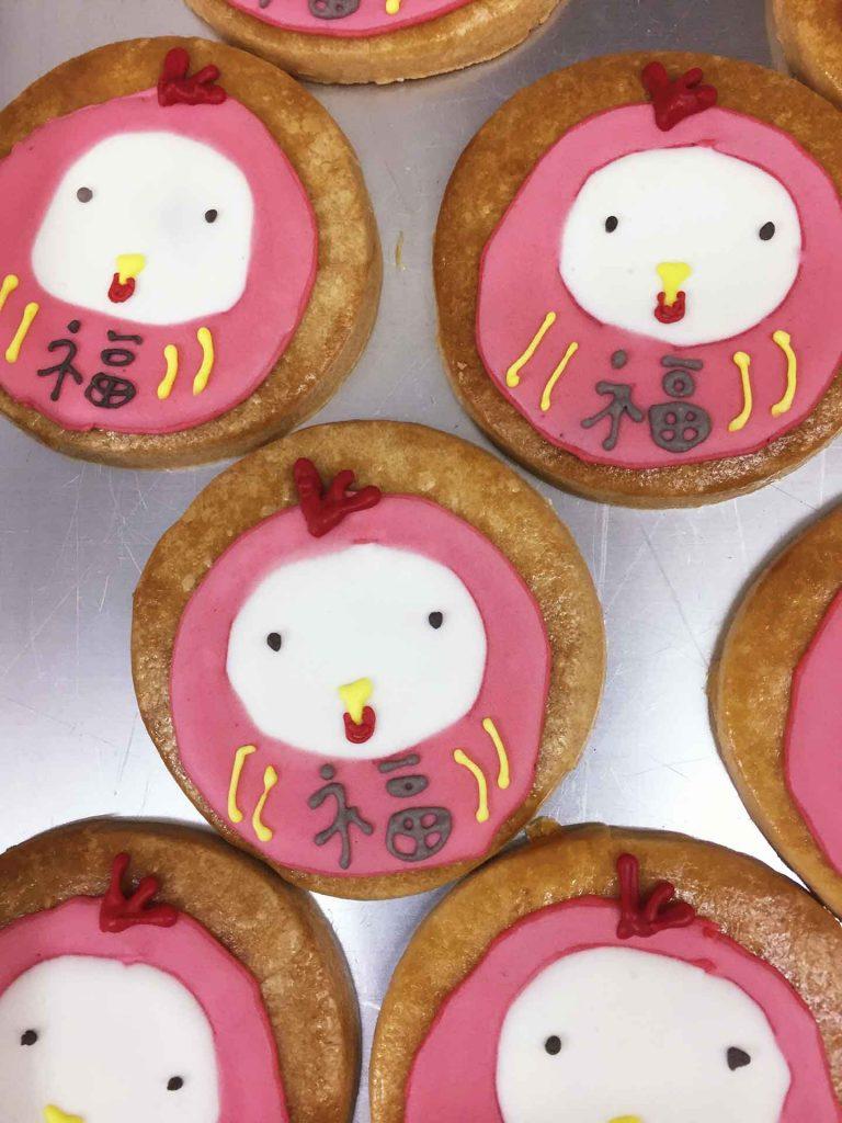 酉だるまクッキー