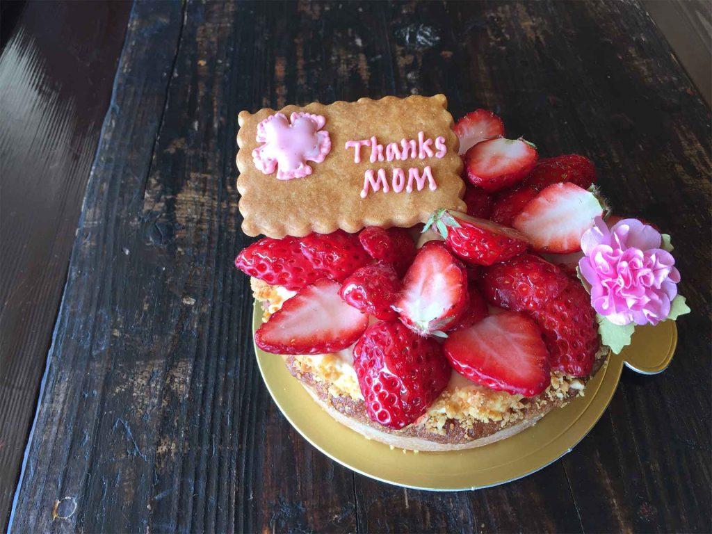 母の日ケーキ2017